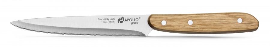 Нож для нарезки с серрейторной заточкой