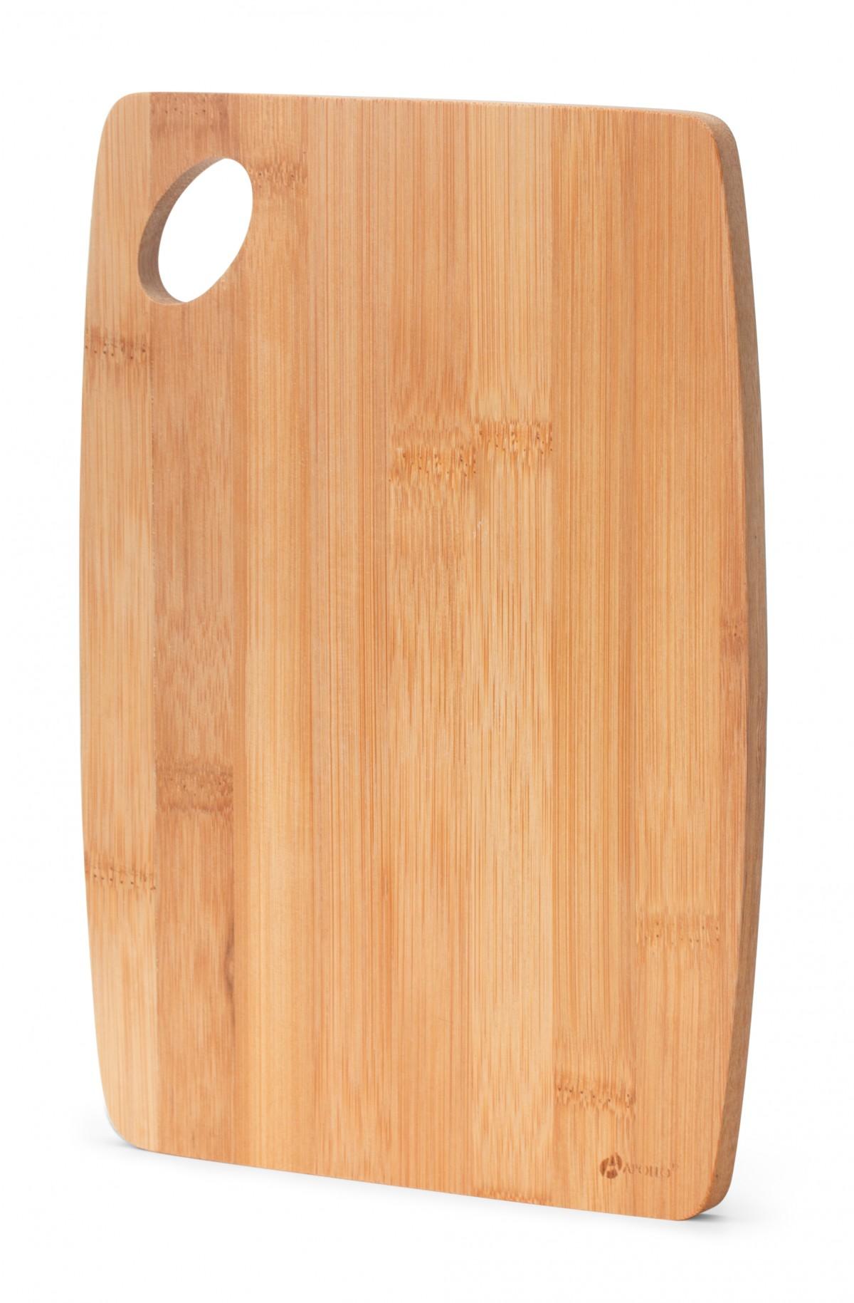 Доска разделочная бамбуковая, 25 х 18 х 1 см