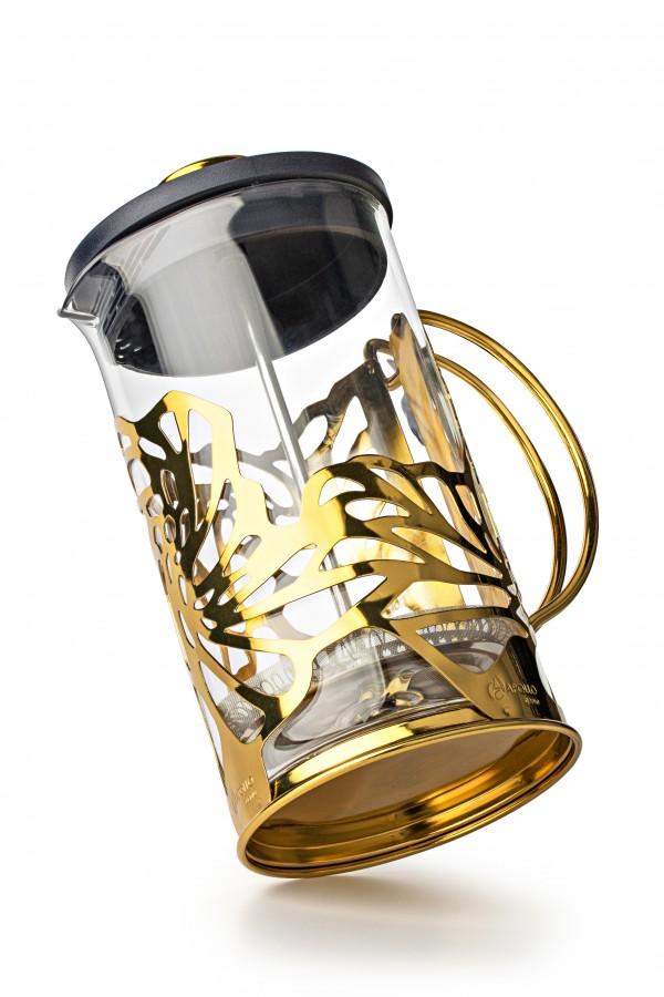 Gold Чайник поршневой, 600 мл