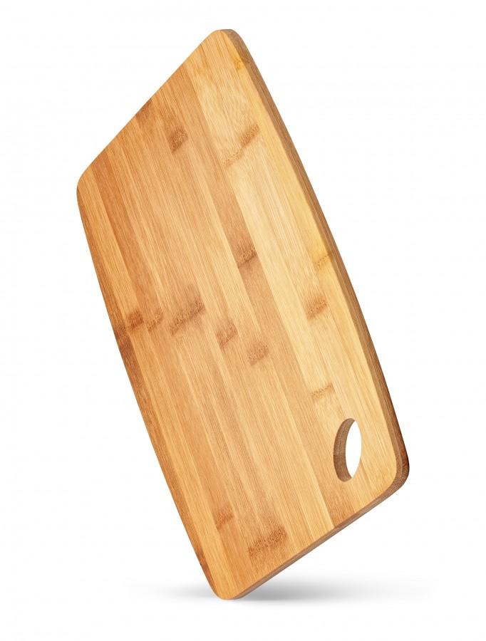 Доска разделочная бамбуковая 32 х 22 х 1 см