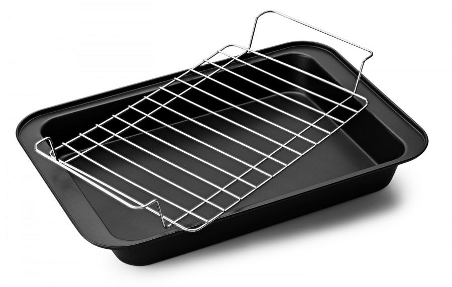 Форма для выпечки с решеткой, 37,5*25*5 см